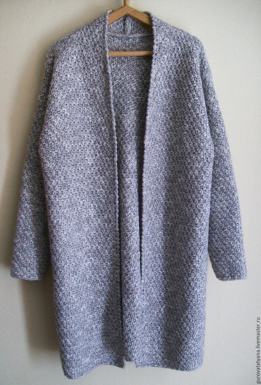 Кардиган свободного кроя - Baggy sweater - Modnoe Vyazanie m 38