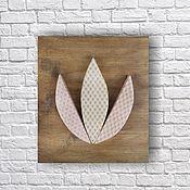 Картины и панно ручной работы. Ярмарка Мастеров - ручная работа Lotus. Handmade.
