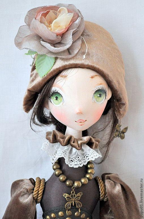 Коллекционные куклы ручной работы. Ярмарка Мастеров - ручная работа. Купить Сны из детства. Handmade. Коричневый, кукла грунтованная