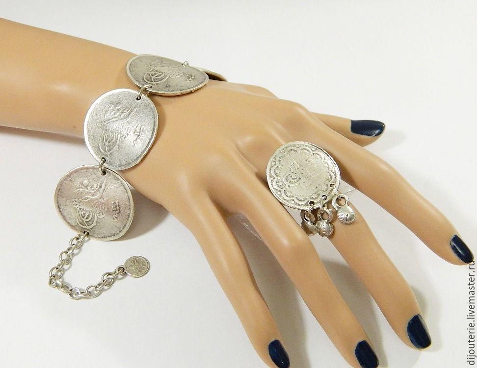 (B7)Bracelet in the style of ancient Ottoman jewellery, Bead bracelet, Saratov,  Фото №1