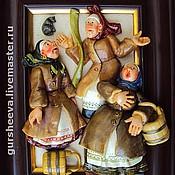 """Картины и панно ручной работы. Ярмарка Мастеров - ручная работа """"У проруби"""". Handmade."""