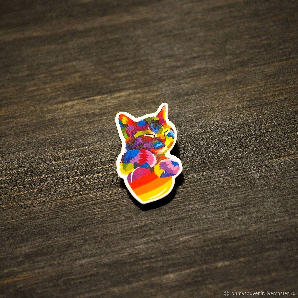 'Kitten likes' icon', Badge, Voronezh,  Фото №1