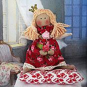 Куклы и игрушки ручной работы. Ярмарка Мастеров - ручная работа Prinzessin auf der Erbse (маленькая принцесса тильда). Handmade.