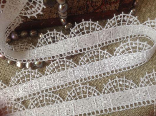 Шитье ручной работы. Ярмарка Мастеров - ручная работа. Купить Кружево макраме белое 2,3 см (51). Handmade.