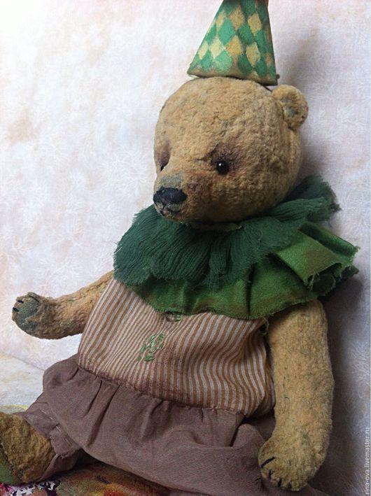 Мишки Тедди ручной работы. Ярмарка Мастеров - ручная работа. Купить Медвежонок Грин. Handmade. Мишка, bear, батист