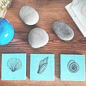 Для дома и интерьера ручной работы. Ярмарка Мастеров - ручная работа Сет для декора Ракушки. Handmade.