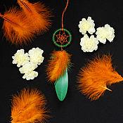 """Фен-шуй и эзотерика ручной работы. Ярмарка Мастеров - ручная работа Ловец снов """"Лесной апельсин"""". Handmade."""