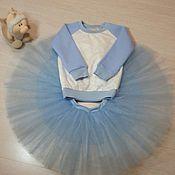 Работы для детей, ручной работы. Ярмарка Мастеров - ручная работа костюм с юбкой пачой. Handmade.