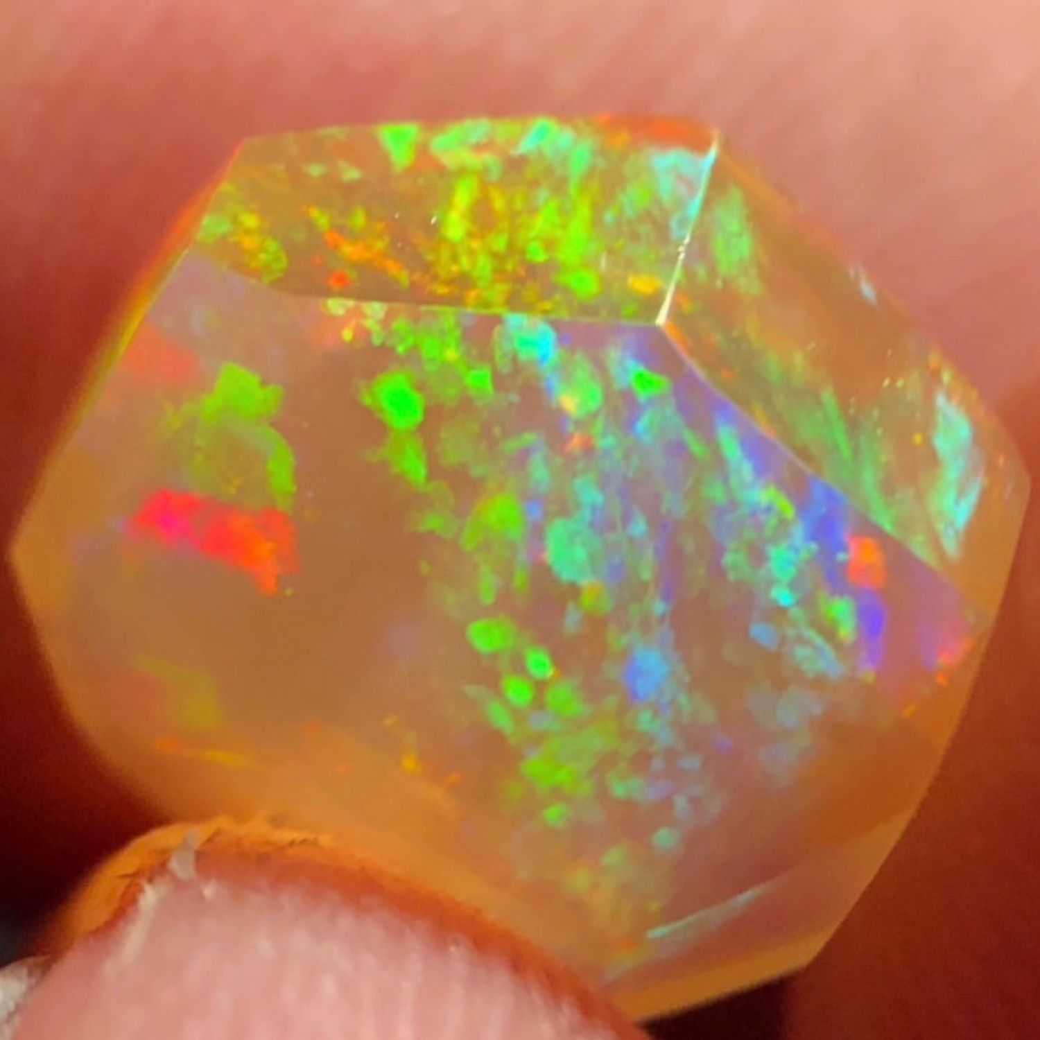 Opal 'Natural geometry' cabochon, Cabochons, Moscow,  Фото №1