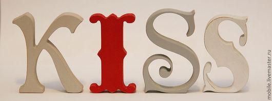 Интерьерные слова ручной работы. Ярмарка Мастеров - ручная работа. Купить Деревянные буквы. Handmade. Буквы из дерева, интерьерные буквы