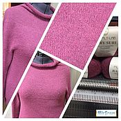 Одежда ручной работы. Ярмарка Мастеров - ручная работа Бесшовный пуловер «Пушистик». Handmade.