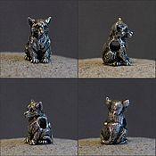 Материалы для творчества handmade. Livemaster - original item Wolfling charm. Handmade.