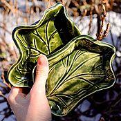 Для дома и интерьера handmade. Livemaster - original item Handmade soap dish