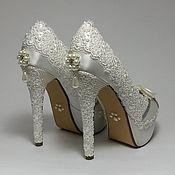 Свадебный салон handmade. Livemaster - original item Wedding shoes