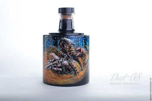 декоративное оформление бутылки