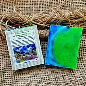 Косметика ручной работы handmade. Livemaster - original item Soap 7 herbs on the herbs of the Altai Mountains. Handmade.
