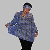 Одежда ручной работы. Ярмарка Мастеров - ручная работа Туника-рубаха. Handmade.
