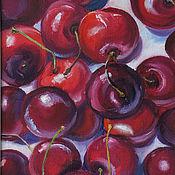 Картины и панно handmade. Livemaster - original item Oil painting. cherry. Handmade.
