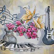 """Картины и панно ручной работы. Ярмарка Мастеров - ручная работа Картина """"Музыка"""". Handmade."""