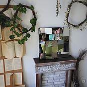 Для дома и интерьера handmade. Livemaster - original item Mirror panel