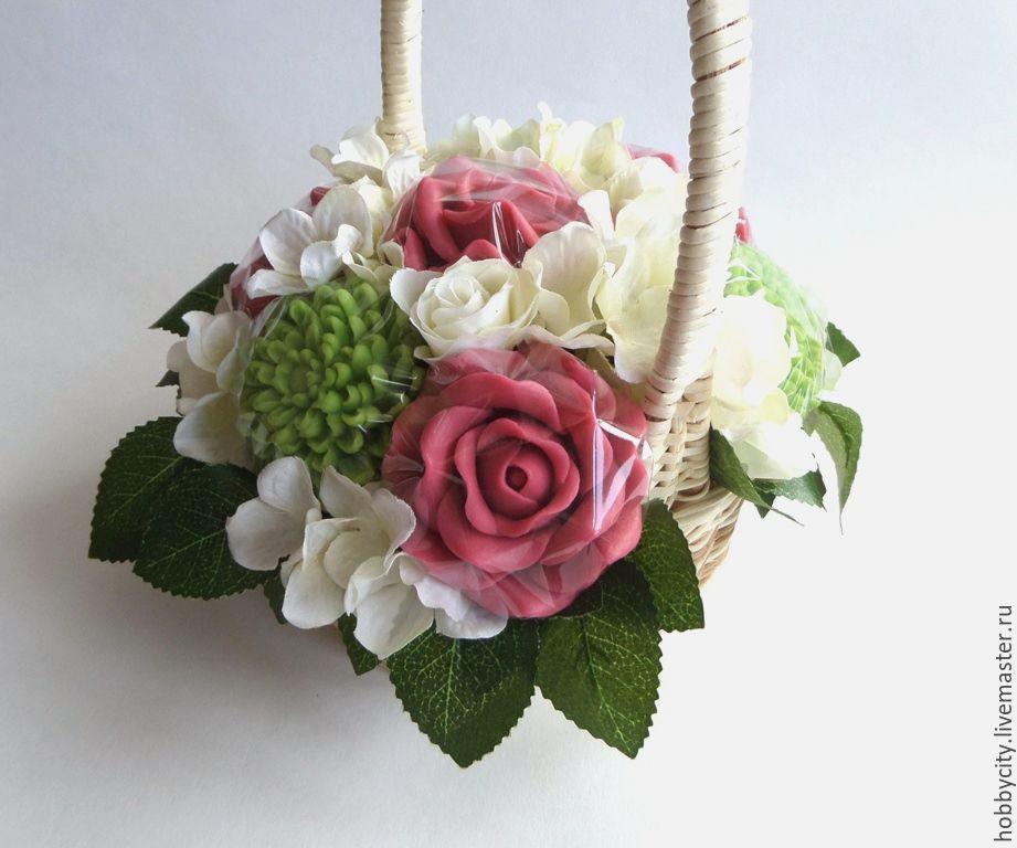 Оптом цветов, букет из мыла купить москва