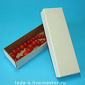 Материалы для творчества ручной работы. Ярмарка Мастеров - ручная работа Коробочка прямоугольная. Handmade.
