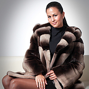 Одежда handmade. Livemaster - original item Mink fur coat Scandinavian Luxury. Handmade.