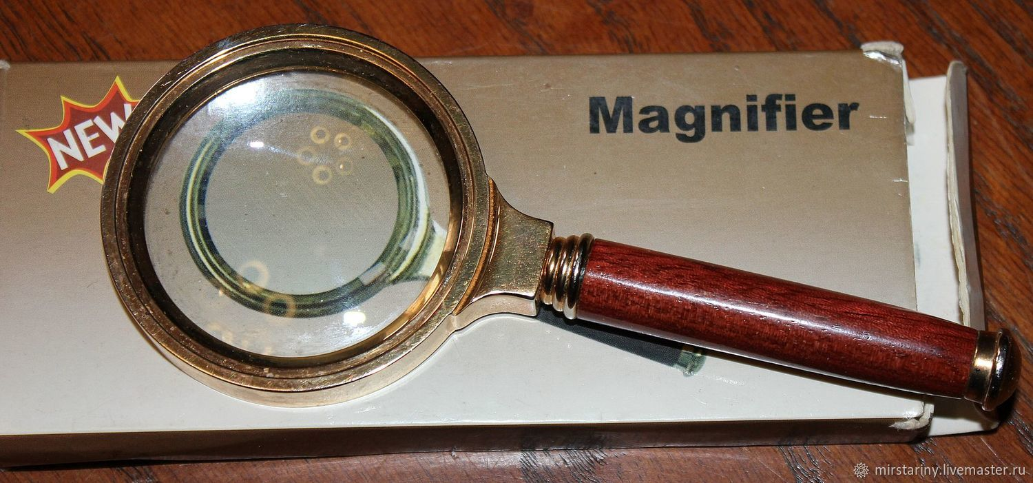 Vintage, four-fold magnifier for reading, Germany, Vintage accessories, Moscow,  Фото №1