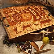 Для дома и интерьера ручной работы. Ярмарка Мастеров - ручная работа Коробка для рукоделия Швея. Handmade.