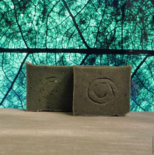 Мыло ручной работы. Ярмарка Мастеров - ручная работа. Купить БОЛОТЦЕ - натуральное мыло. Handmade. Тёмно-зелёный, мыло с нуля