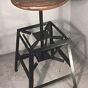 Стулья ручной работы. Ярмарка Мастеров - ручная работа Барный стул Charles Miller. Handmade.