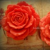 Мыло ручной работы. Ярмарка Мастеров - ручная работа Королевская роза. Handmade.
