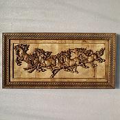 Картины и панно ручной работы. Ярмарка Мастеров - ручная работа Табун. Handmade.