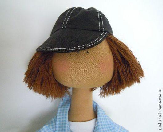 """Человечки ручной работы. Ярмарка Мастеров - ручная работа. Купить Текстильная кукла """"Митька"""". Handmade. Кукла, человечки, игрушка в подарок"""