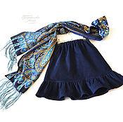 Работы для детей, handmade. Livemaster - original item Children`s corduroy skirt