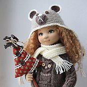 Кукла коллекционная текстильная авторская Аня
