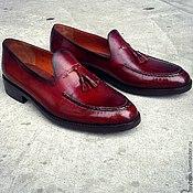 Обувь ручной работы. Ярмарка Мастеров - ручная работа Мужские лоферы. Handmade.