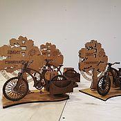 Настольные органайзеры ручной работы. Ярмарка Мастеров - ручная работа Настольные органайзеры: Велосипед. Handmade.