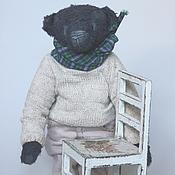 Куклы и игрушки ручной работы. Ярмарка Мастеров - ручная работа Осенний мишка Захар. Handmade.