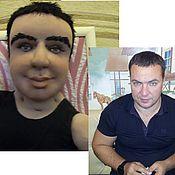 Куклы и игрушки ручной работы. Ярмарка Мастеров - ручная работа подарок мужу кукла Портрет по фото. Handmade.