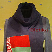 Одежда ручной работы. Ярмарка Мастеров - ручная работа шарф-сувенир. Handmade.