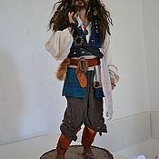 Куклы и игрушки ручной работы. Ярмарка Мастеров - ручная работа пират Джек Воробей. Handmade.