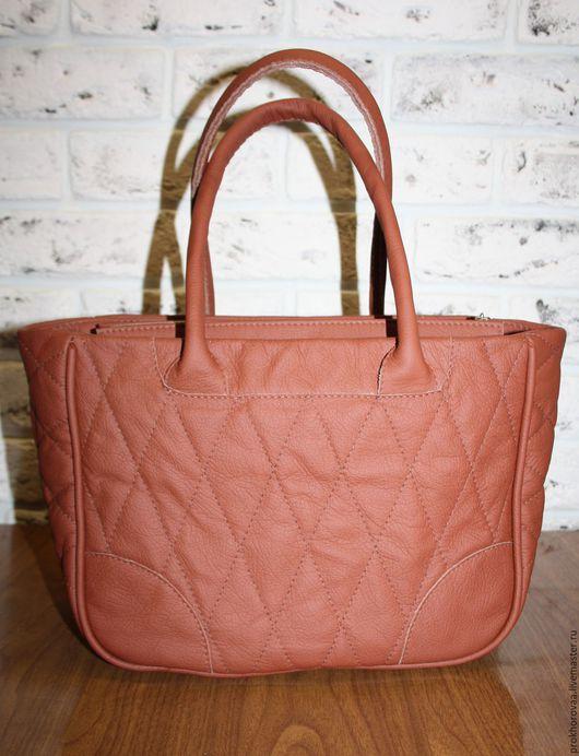 Женские сумки ручной работы. Ярмарка Мастеров - ручная работа. Купить сумка кожанная. Handmade. Коричневый, сумка из натуральной кожи