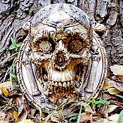 Субкультуры ручной работы. Ярмарка Мастеров - ручная работа Кружевной череп-настенное интерьерное украшение. Handmade.
