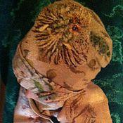 Аксессуары ручной работы. Ярмарка Мастеров - ручная работа шапка шарф. Handmade.