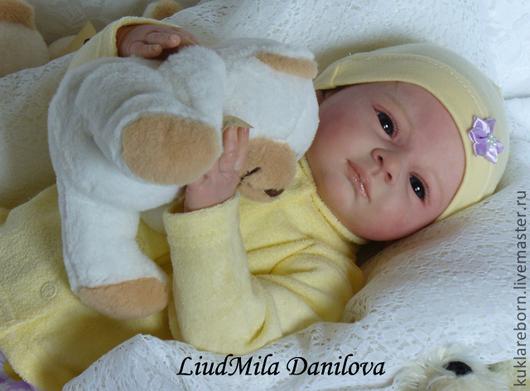 Куклы-младенцы и reborn ручной работы. Ярмарка Мастеров - ручная работа. Купить Алеша-кукла реборн Людмилы Даниловой. Handmade.