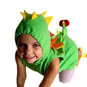 """Работы для детей, ручной работы. Ярмарка Мастеров - ручная работа """"Динозаврик"""" костюм. Handmade."""