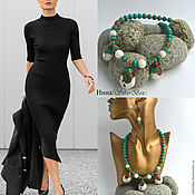 Necklace handmade. Livemaster - original item Necklace Boho Tibet Turquoise Coral Coral WHITE Handmade. Handmade.