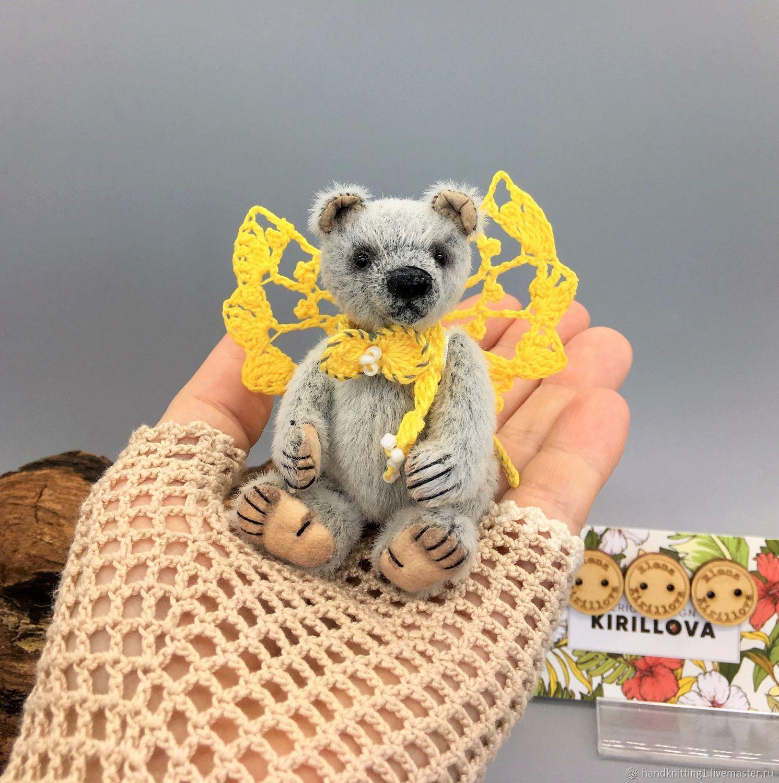 Миниатюрный Медвежонок Дымок, Мишки Тедди, Москва,  Фото №1