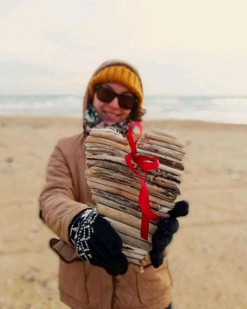 Driftwood Valentines Wooden hearts, Gifts for February 14, Novorossiysk,  Фото №1